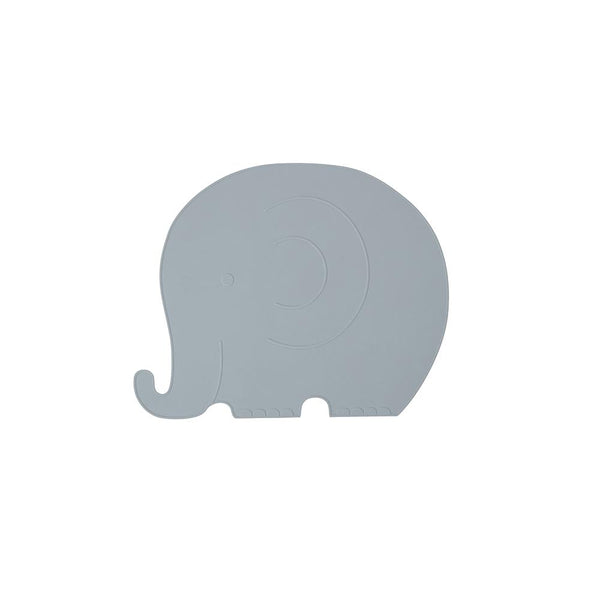 Placemat - Henry Elephant - Pale Blue