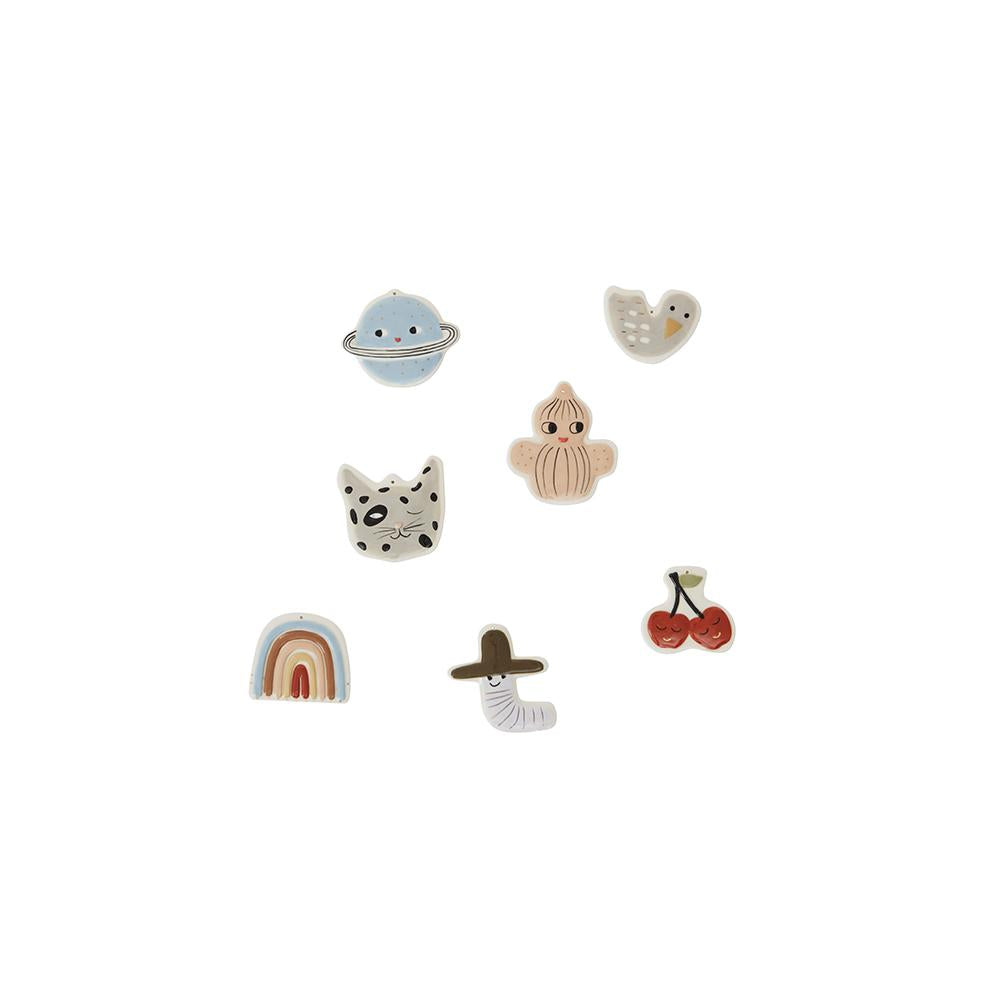 Figure Pack of 7 - Multi
