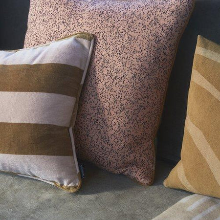 Confect Cushion in Rose & Amber design by OYOY