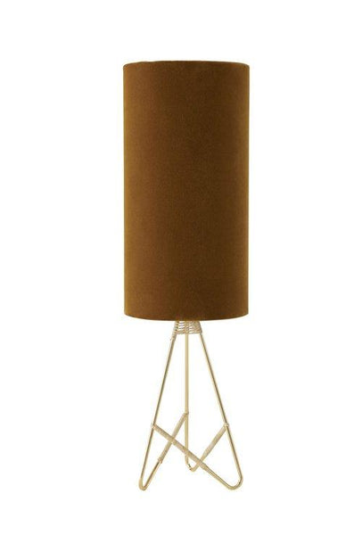 Toko Table Lamp in Amber & Velvet design by OYOY