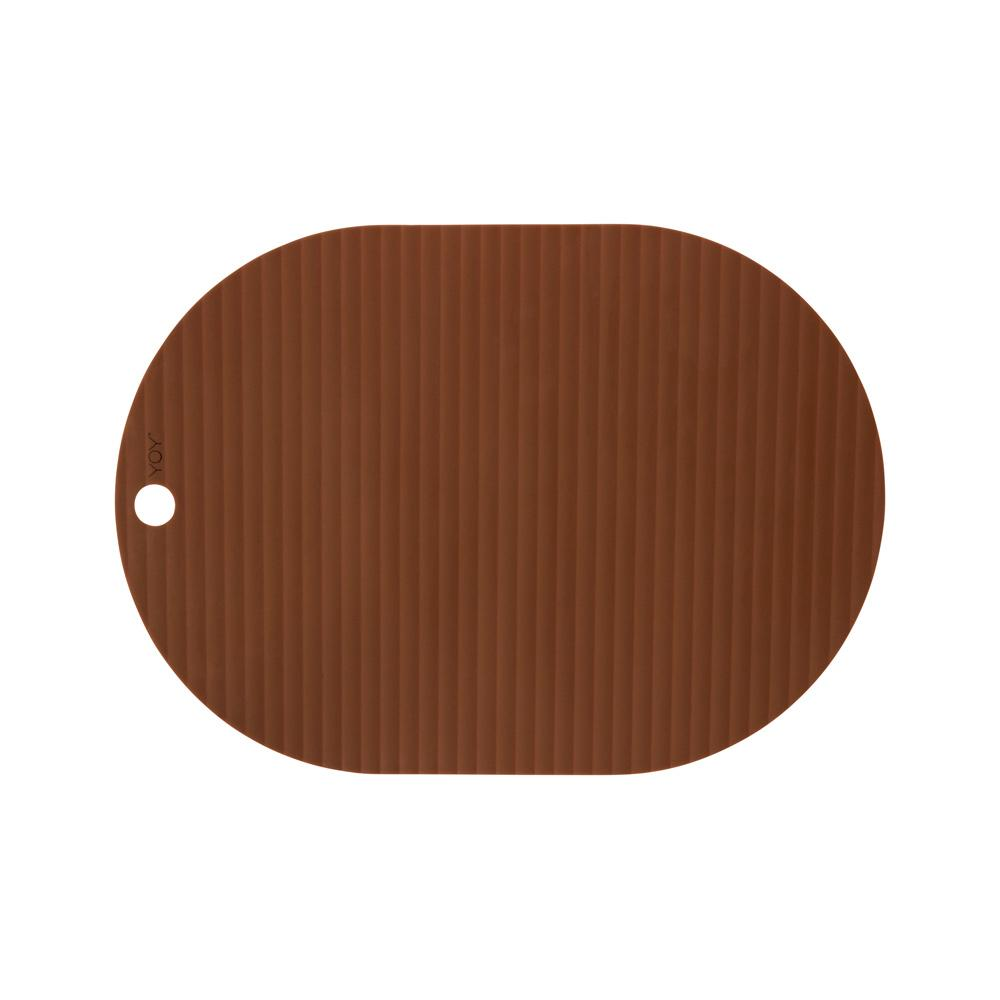 Ribbo Placemat - 2 Pcs/Pack - Caramel