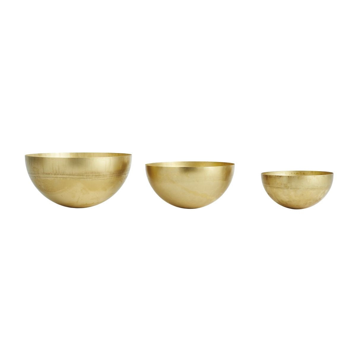 Large Brass Bowl design by OYOY
