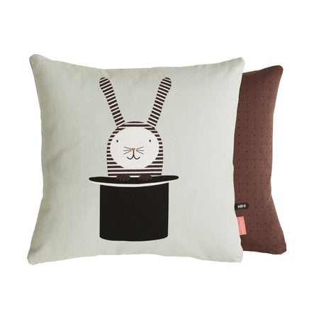 Rabbit In Hat Cushion design by OYOY