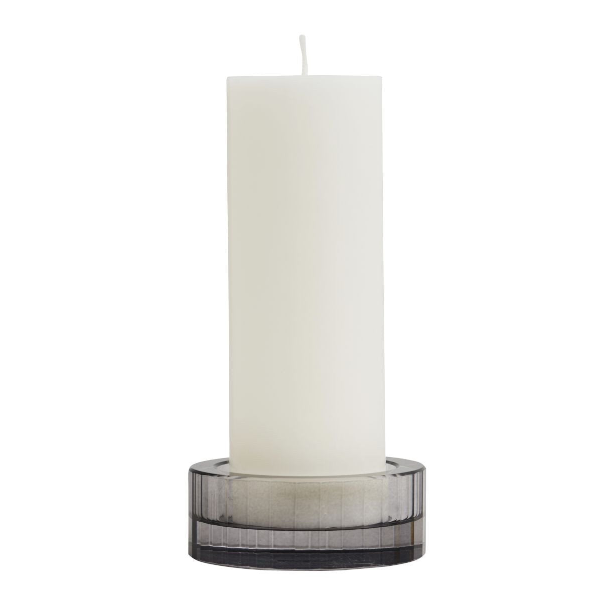 XL Nordic Candleholder in Smoked design by OYOY