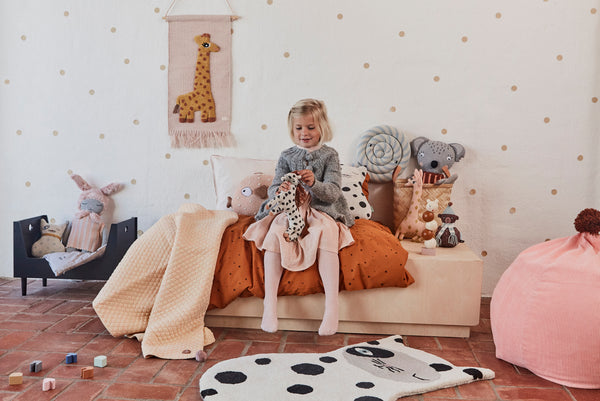 Doll Bed Bedding - Happy Forest