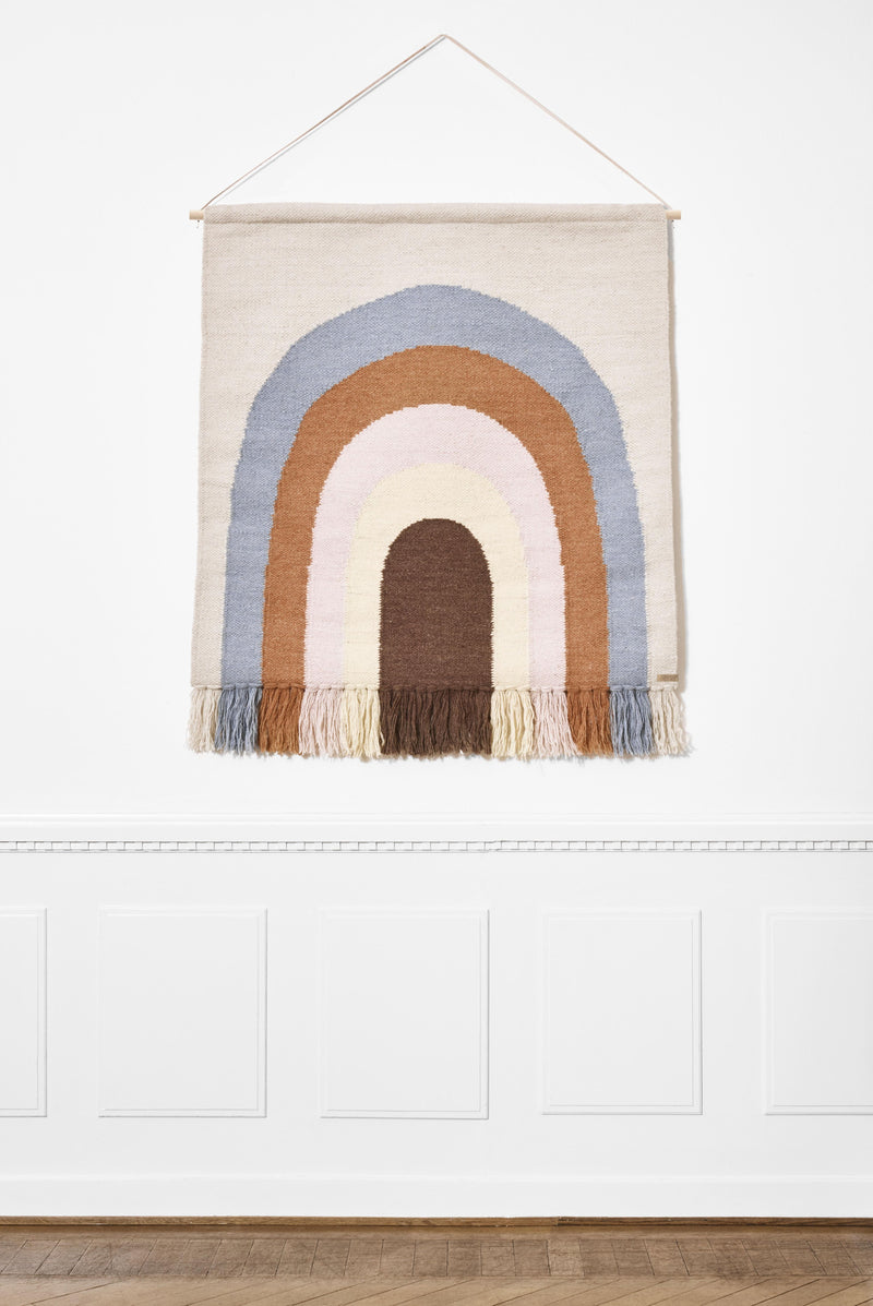 Follow The Rainbow Wall Rug design by OYOY