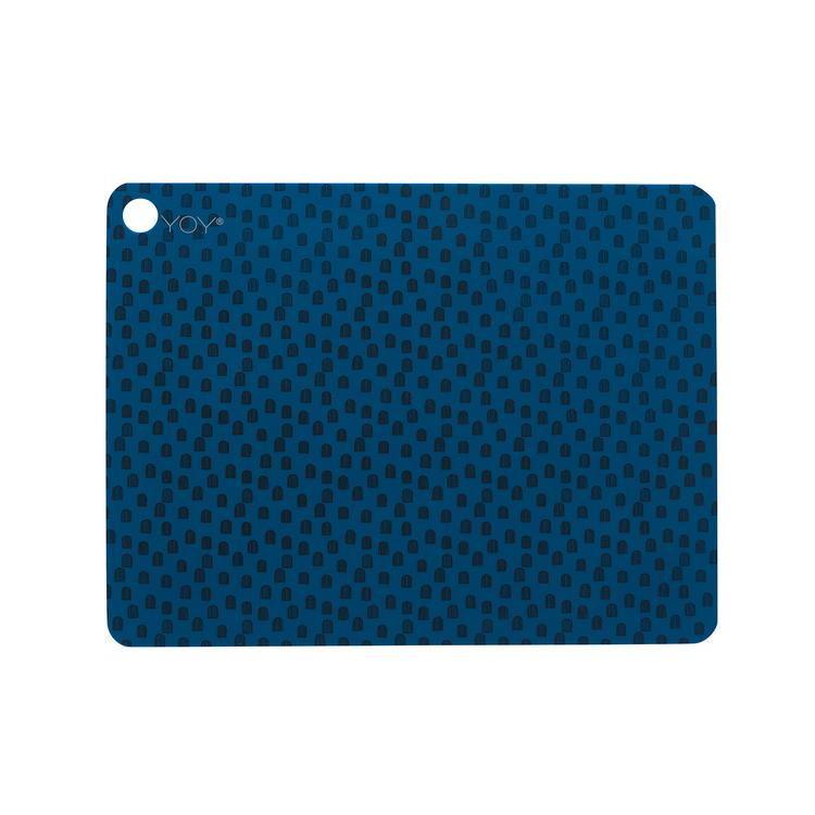 Placemat Muni Blue