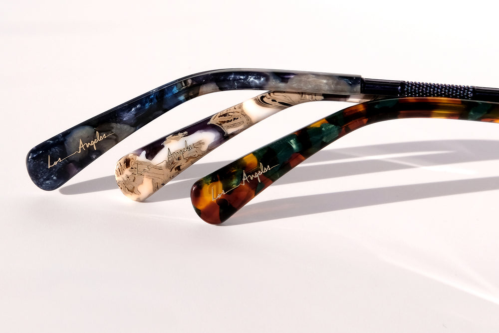 Handwritten Details on Artistic Designer Eyewear, Sunglasses for Men, Sunglasses for Women