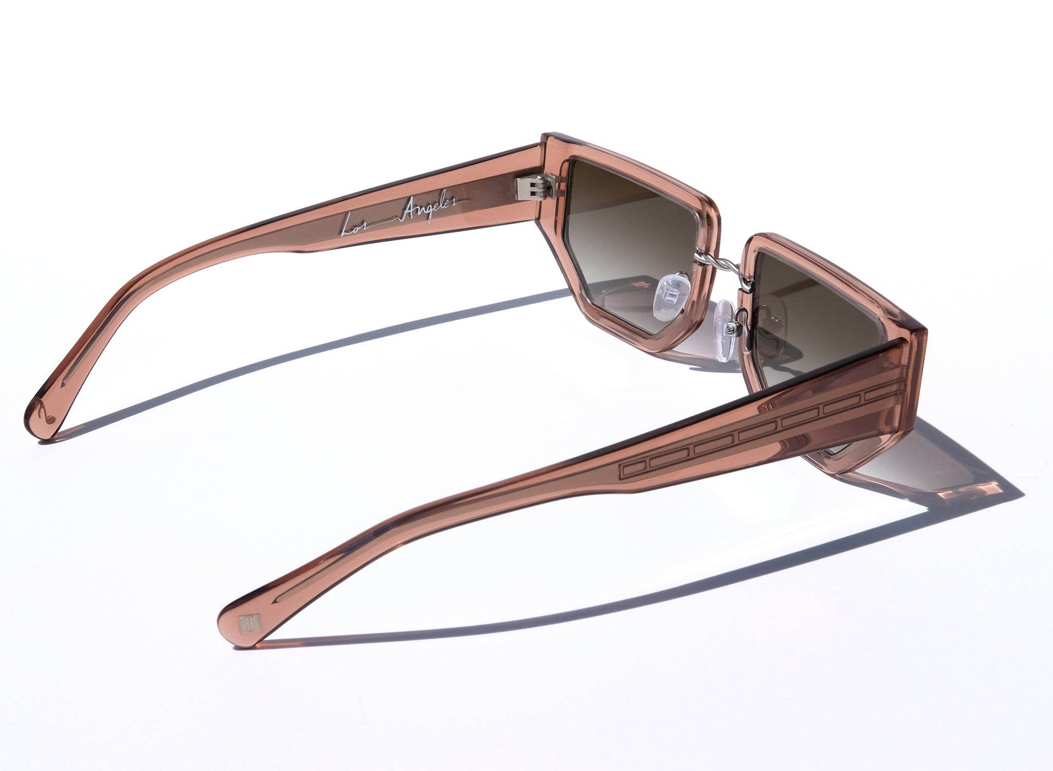 LAS MARIPOSAS IN SUNKISSED, NUDE SUNGLASSES
