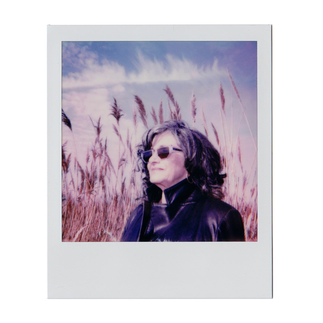 polaroid, sunglasses, blue sunglasses, retro sunglasses, vintage eyewear, art, photography, nature, mature model, los angeles eyewear, art deco, pampas grass