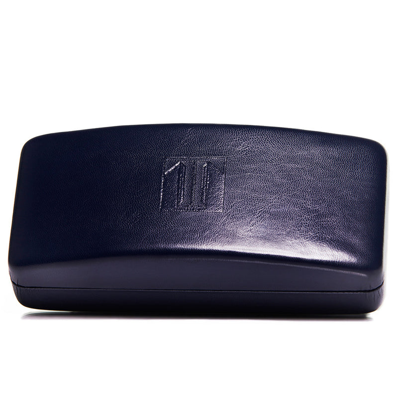 MIDNIGHT BLUE CLAMSHELL SUNGLASSES CASE