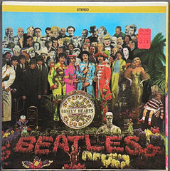 SGT. PEPPER'S LONELY HEARTS CLUB BAND STEREO ALBUM SEALED
