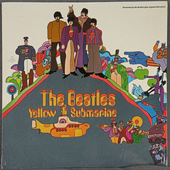 THE BEATLES YELLOW SUBMARINE STEREO ALBUM SEALED
