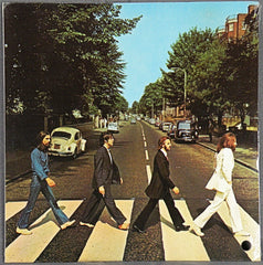 ABBEY ROAD STEREO ALBUM SEALED PROMO.
