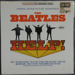 THE BEATLES HELP! STEREO ALBUM SEALED