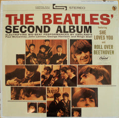 THE BEATLES' SECOND ALBUM STEREO SEALED PROMO