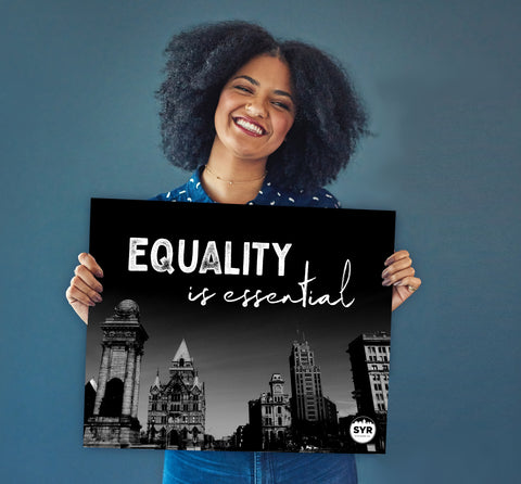 "'Equality is Essential' Poster (20"" x 16"")"