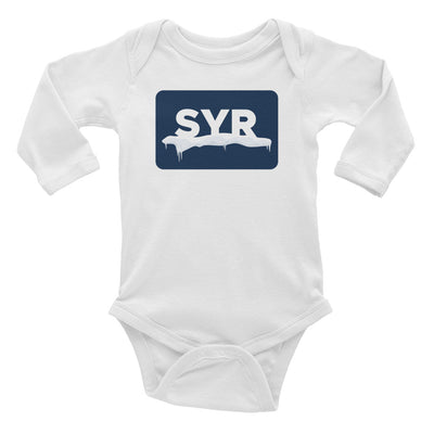 'SYR Snow' Infant Long Sleeve Bodysuit