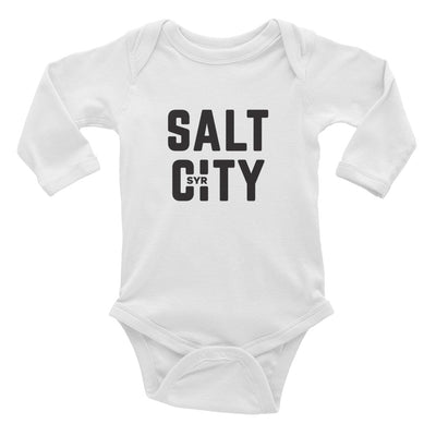 'Salt City' Infant Long Sleeve Bodysuit