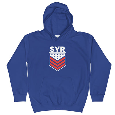 'SYR Stars and Stripes' Kids Hoodie