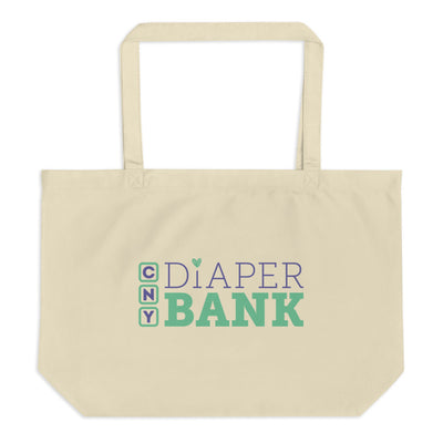 'CNY Diaper Bank' Large Organic Tote Bag
