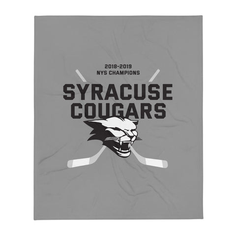 'Syracuse Cougars' Throw Blanket