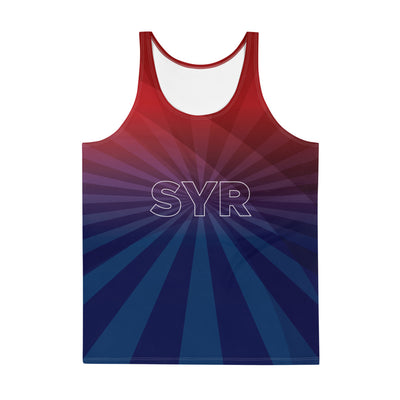 'SYR USA' Men's All-Over Printed Tank