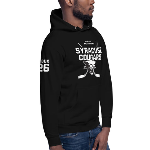 'Tommy Rioux Syracuse Cougars' Unisex Hoodie
