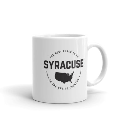 'The Best Place to be' Syracuse 11oz. Mug