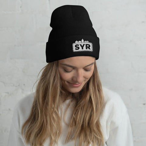 'SYR City Top' Cuffed Beanie