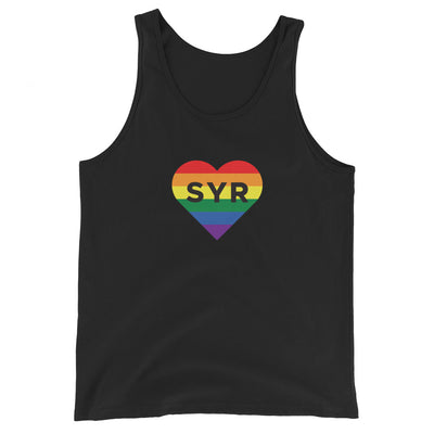 'Pride SYR Heart' Unisex Tank Top