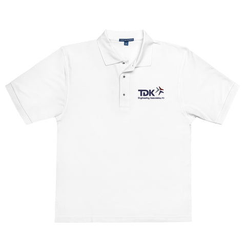 'TDK Engineering' Embroidered Men's Premium Polo