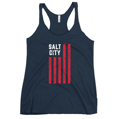 'Salt City Flag' Women's Racerback Tank