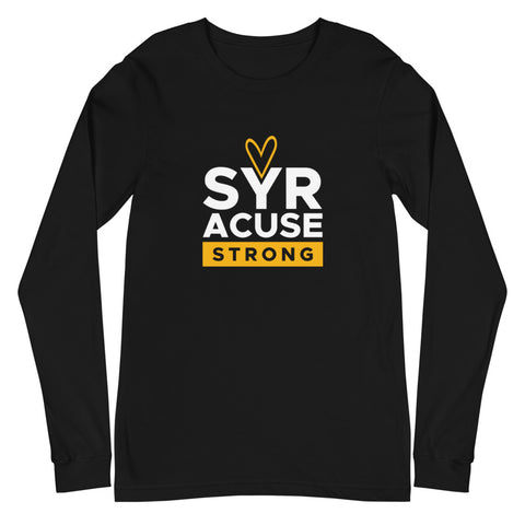 'Syracuse Strong' Premium Unisex Long Sleeve Tee