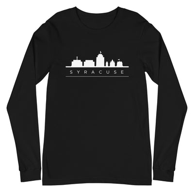 'Syracuse Skyline' Premium Unisex Long Sleeve Tee