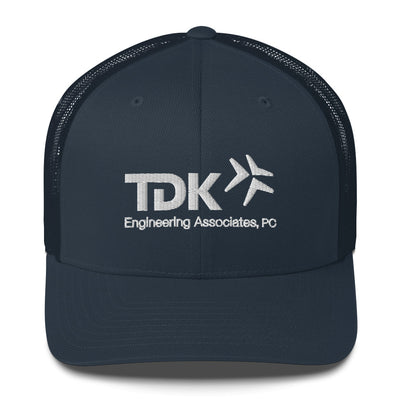 'TDK Engineering' Navy Trucker Cap