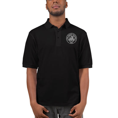 'The Albany Academy' Men's Premium Black Polo
