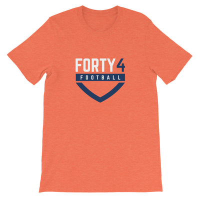 'Forty4 Football' Unisex Premium T-Shirt