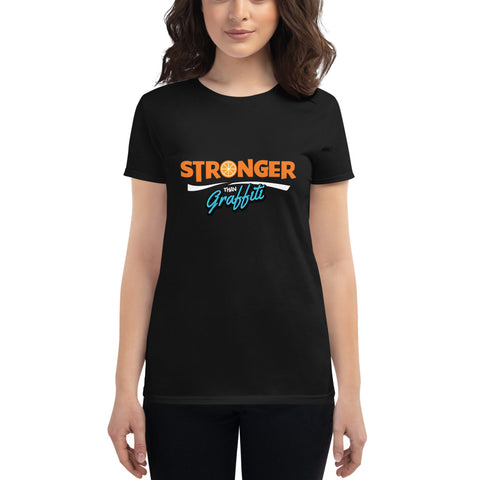 'Stronger than Graffiti' Women's Premium Tee