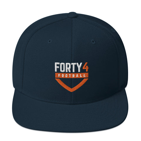 'Forty4 Football' Snapback Hat