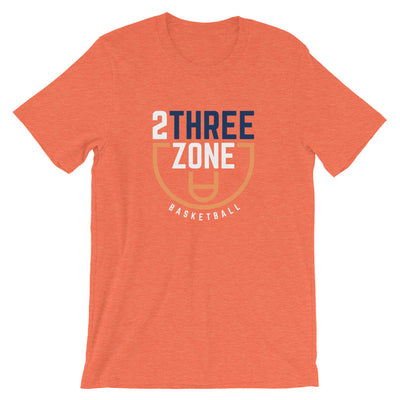 '2 Three Zone Basketball' Unisex Premium T-Shirt