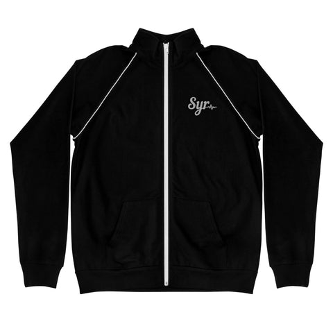 'SYR Active' Men's Piped Fleece Jacket
