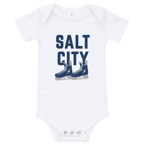 'Salt City Hockey' Baby Bodysuit