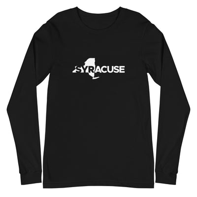 'Syracuse of New York' Premium Unisex Long Sleeve Tee