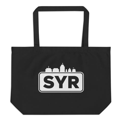 'SYR City Top' Large Organic Tote Bag