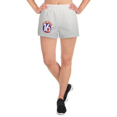 'OMT16' Women's Athletic Short Shorts