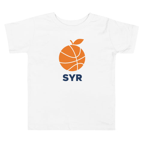 'Orange Basketball SYR' Toddler T-Shirt