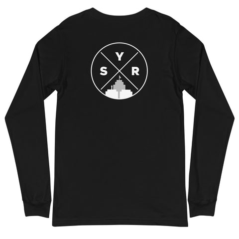 'SYR City Grid' Unisex Long Sleeve Tee