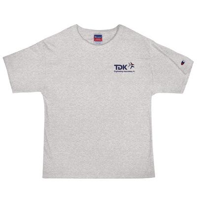 'TDK Engineering' Embroidered Men's Champion T-Shirt