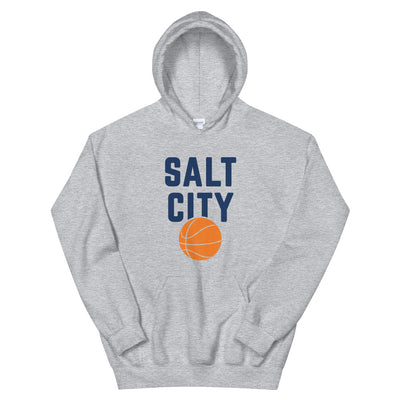 'Salt City Basketball' Unisex Hoodie